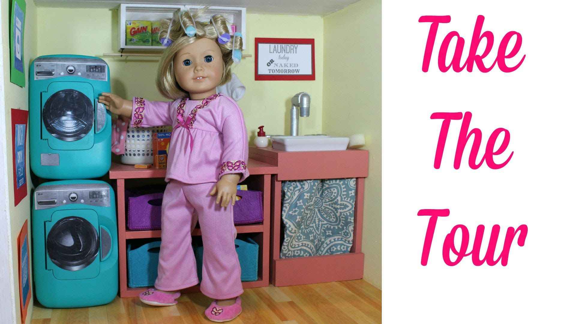 learn how to make american girl doll washing machine our doll washing machine is one of the easiest doll crafts we - How To Make A American Girl Room