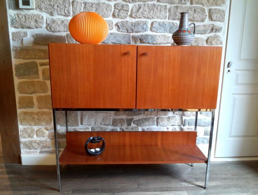 Commode Vintage Luigi Bartolini Commode Vintage Mobilier De Salon Meuble Vintage