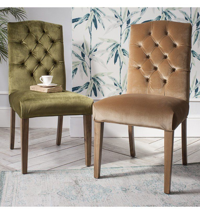 Ambrose Upholstered Dining Chair (pair) Leather and