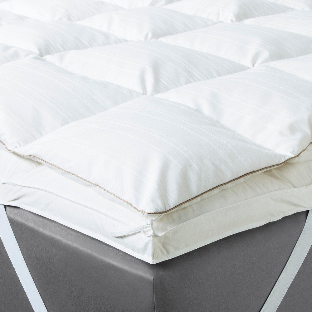 Feather Bed Mattress Topper (King) White Fieldcrest