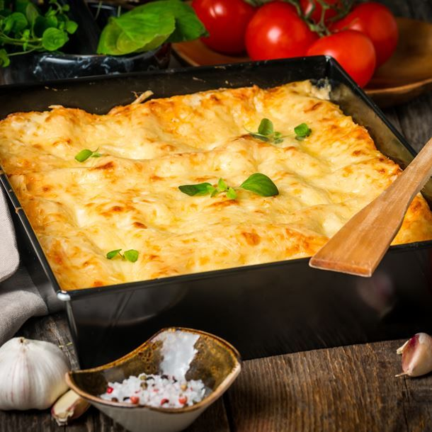 Lasagnes au boeuf bourguignon
