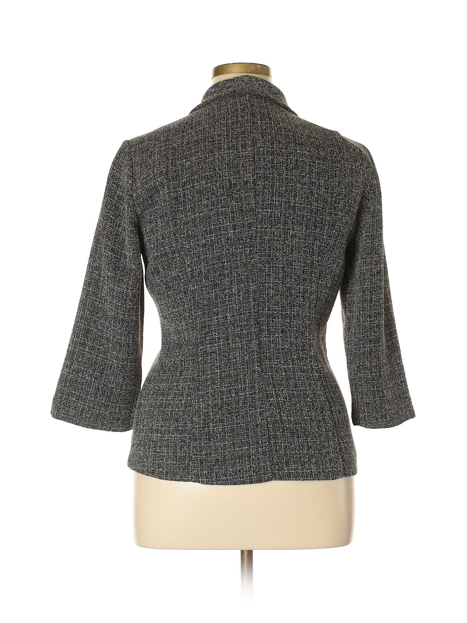 2d7278029f229 Danny And Nicole Blazer: Gray Women's Jackets & Outerwear - 32224318 ...