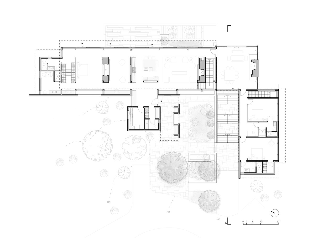 Gallery Of Bridge House Vg Architects 17 In 2020 My House Plans Architect Architecture House