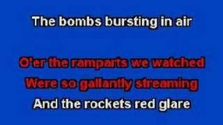 star spangled banner karaoke - YouTube | school | Music