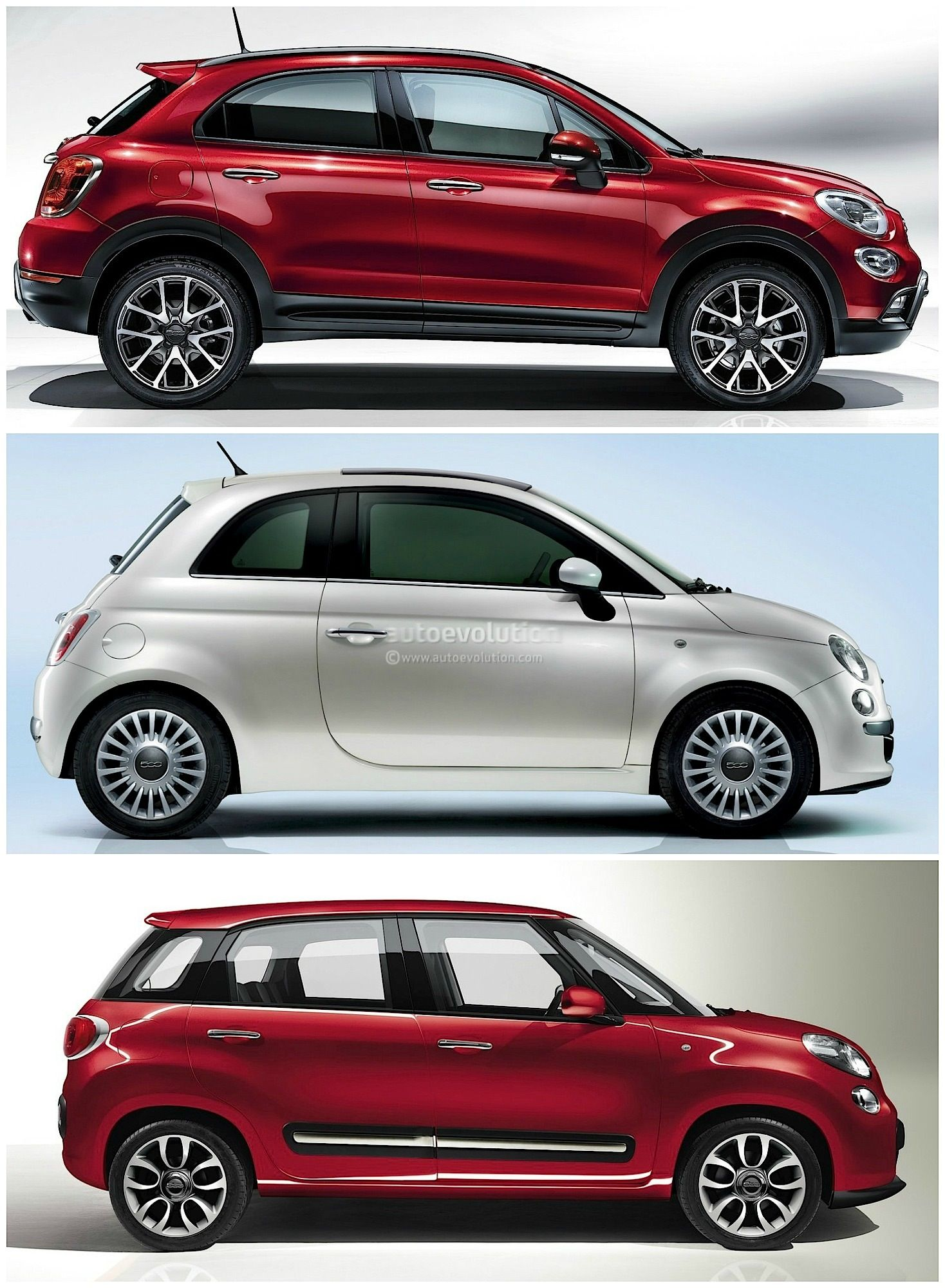 Fiat 500x Vs 500l Vs 500 Italian Family Comparison 4 Jpg 1468