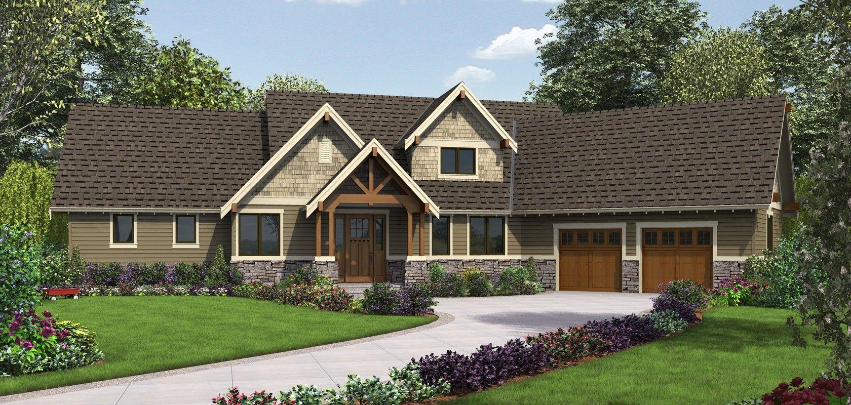 Mascord House Plan 22156fa The Ferguson Craftsman House Plans Craftsman Floor Plans Craftsman Style House Plans