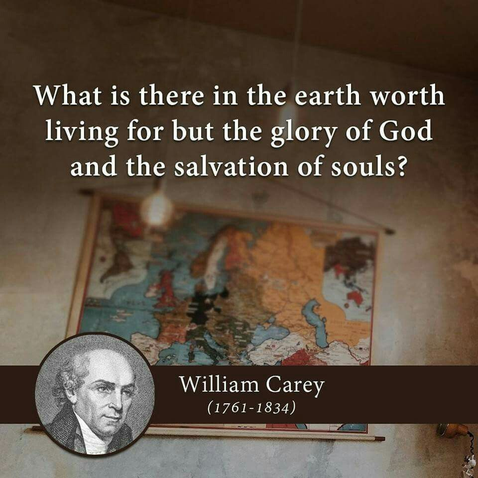 christian quotes | William Carey quotes | glory of God | salvation