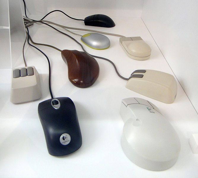 Computer mice, 1986-2007