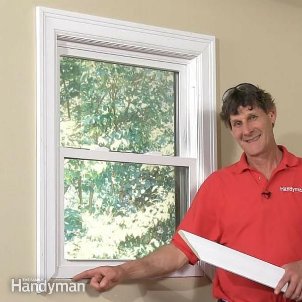 How To Trim Out A Window Vinyl Replacement Windows Windows Single Pane Windows
