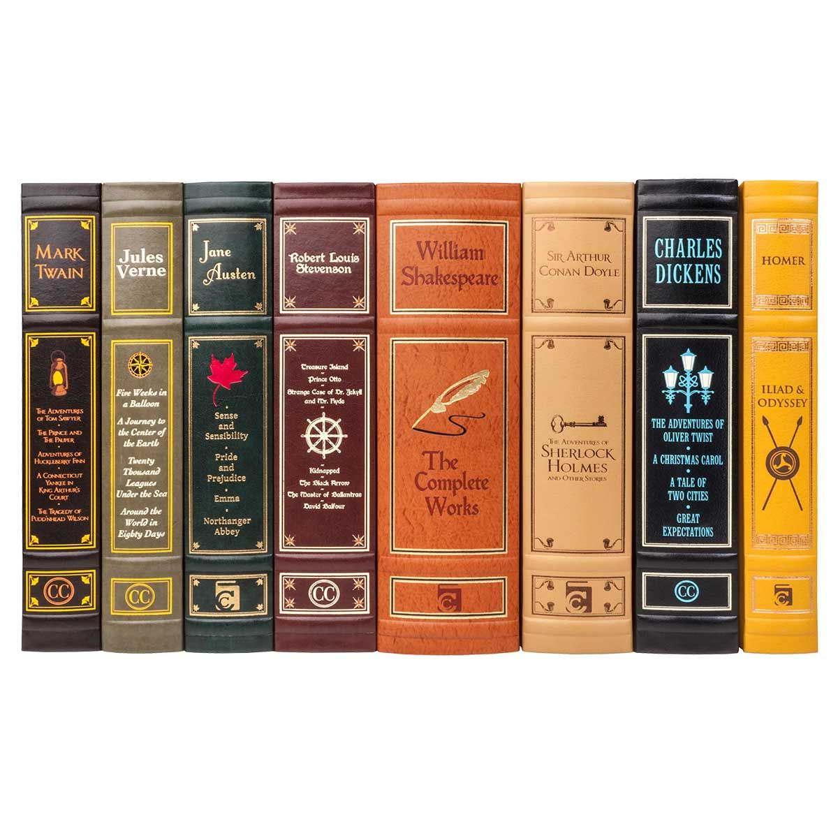 Canterbury Classics Leather Bound Collection Juniper Books Canterbury Classics Book Spine Miniature Books