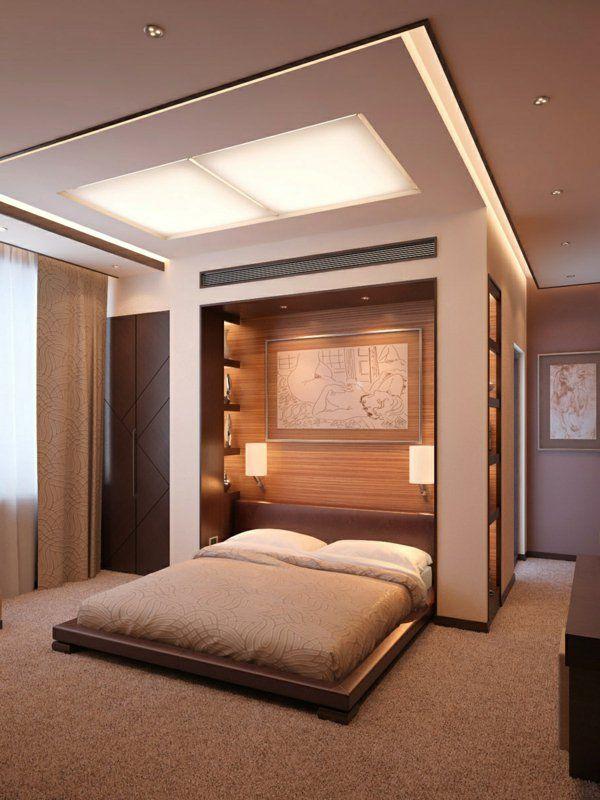 La t te de lit avec rangement un gain d 39 espace d co for Agencement chambre a coucher