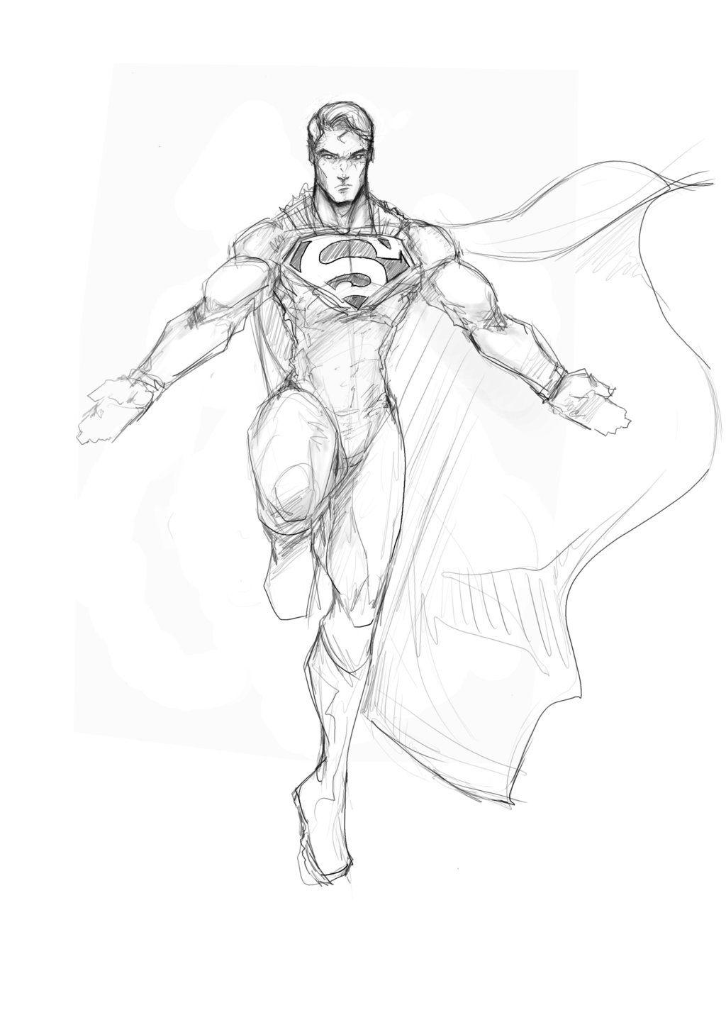 Superman Flight By Sketchydeez Superman Drawing Comic Books Art Character Art