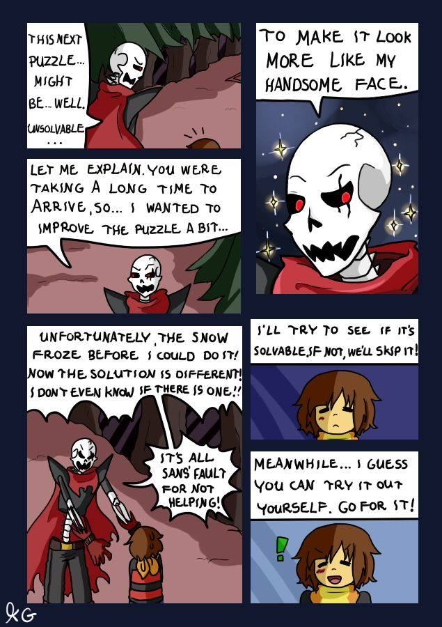 Papyrus Explains Why Sans Is A Lazy Butt And Why His Genius Idea