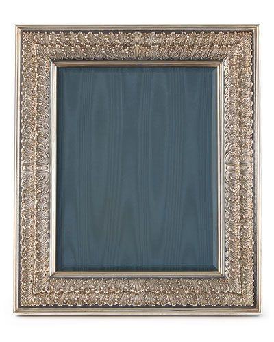Hayyz Buccellati Double Linenfold Frame 8 X 10 Picture Frame Decor Silver Picture Frames Picture Frame Display