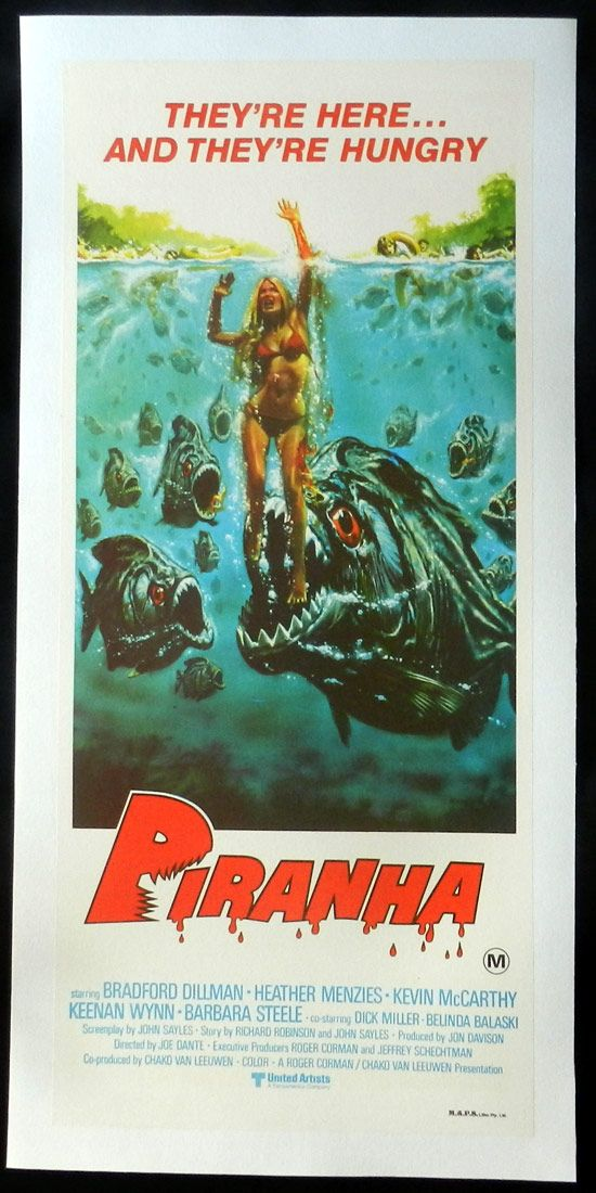 Piranha (1978) | STRICTLY horror | Movie posters, Best movie