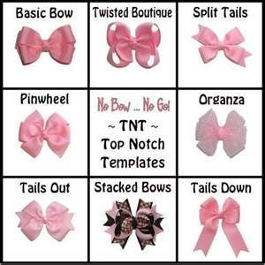 How to do many different styles of bows