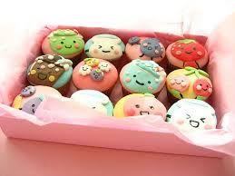 Resultado de imagem para cupcakes kawaii