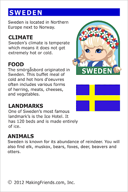 Facts about Sweden | Scouts - Girl Scouts | Facts about ...