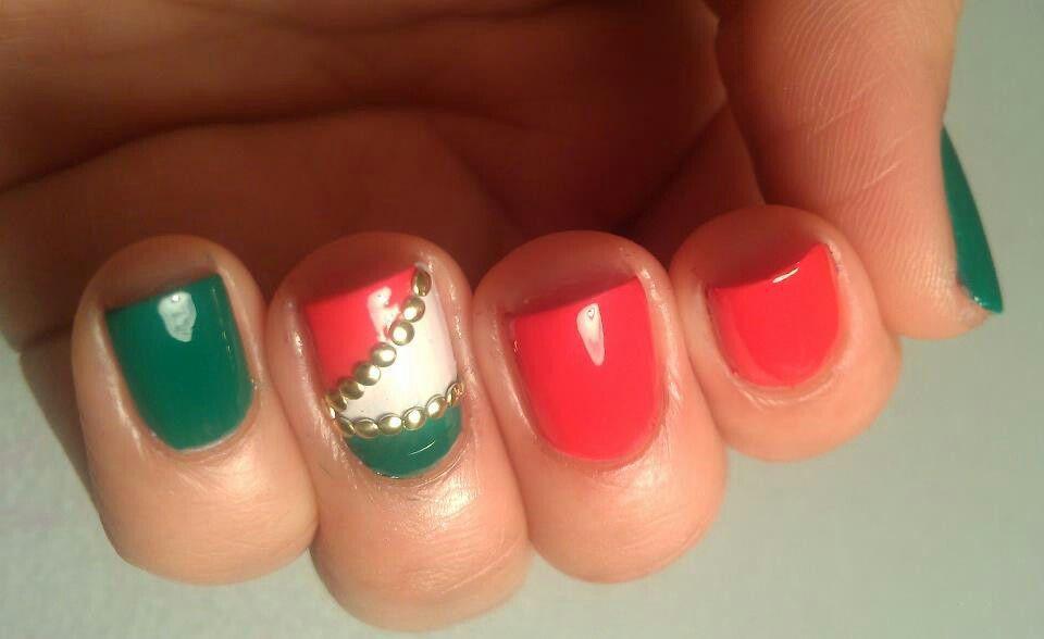 Cinco De Mayo Nails Cosmetology School Pinterest
