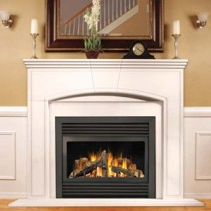 A Timeless Fireplace Display Http Www Phillipsoilandgas Com Vented Gas Fireplace Direct Vent Gas Fireplace Gas Fireplace