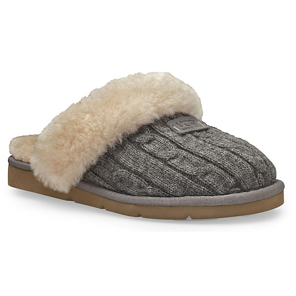 womans+slippers | Ugg Australia Cozy Knit Womens Slippers 2012