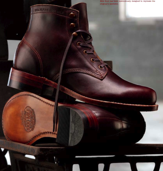 The Wolverine 1,000 Mile Boot