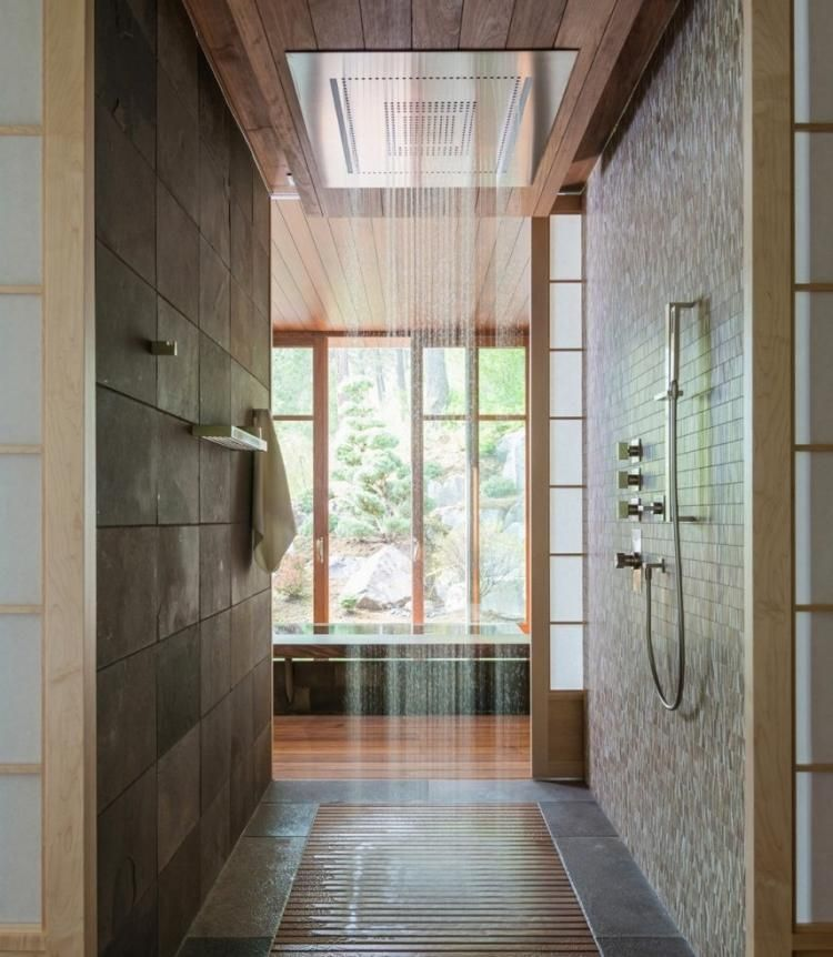 25 idées douche à lu0027italienne pour une salle de bain moderne