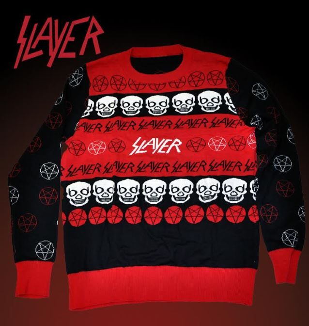 slayer christmas jumper