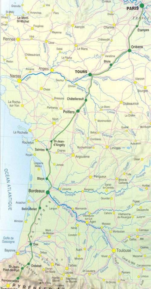 Voie De Tours Foret Des Landes Chemin De Compostelle