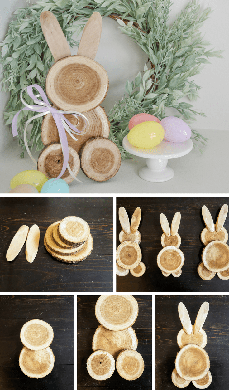 Farmhouse Easter Decor  DIY Scrap Wood Bunny |#easter#decoration #kidsbedroomsandthings