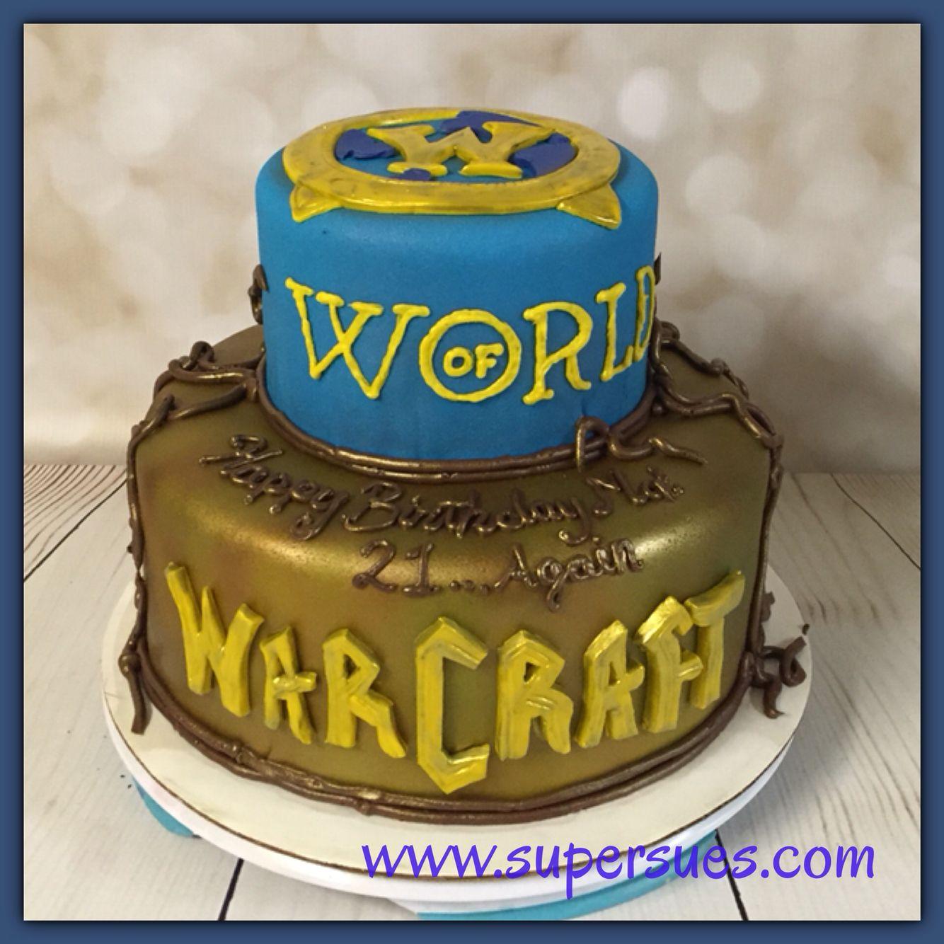 World Of Warcraft Themed Cake