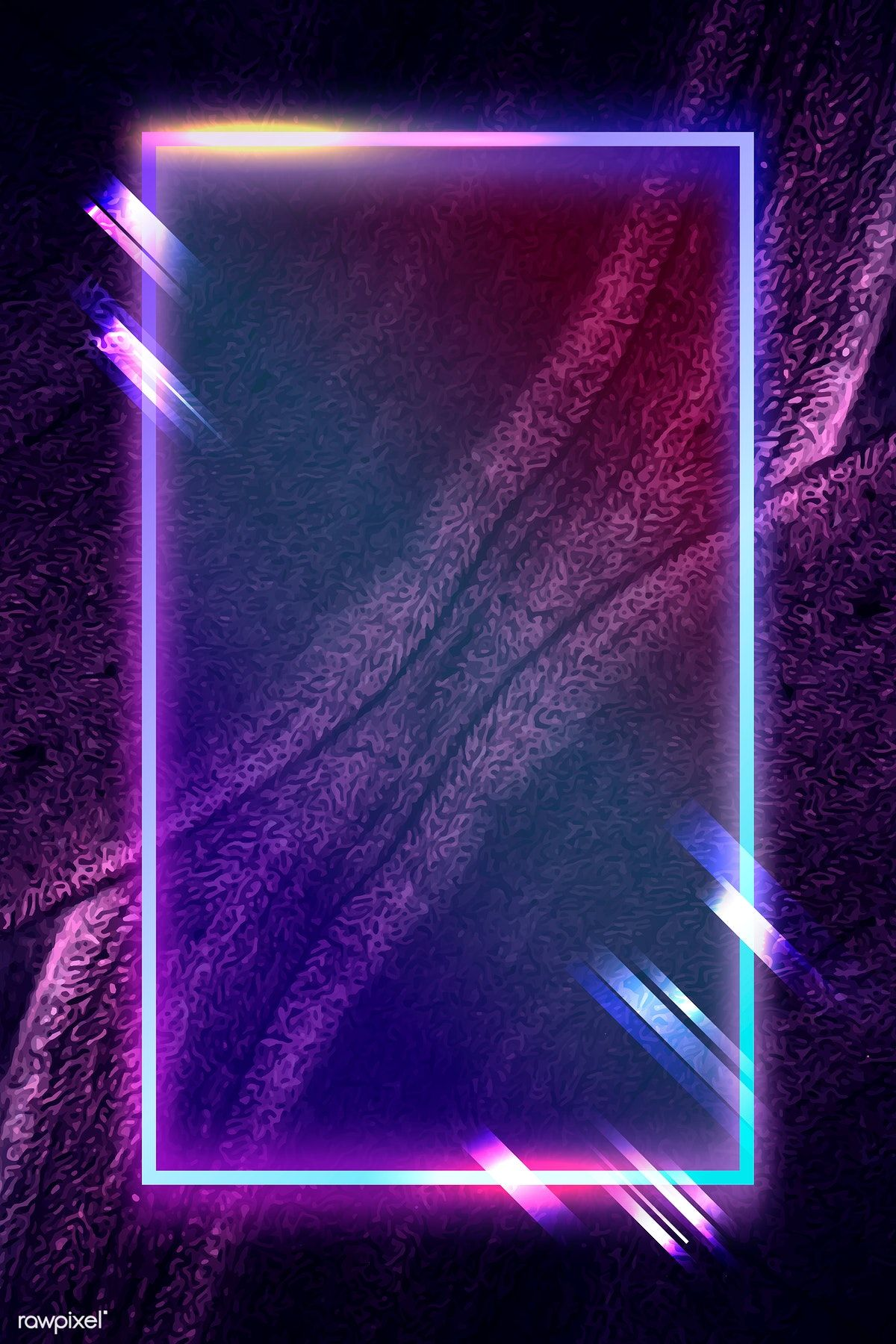 Download premium vector of Rectangle frame on abstract