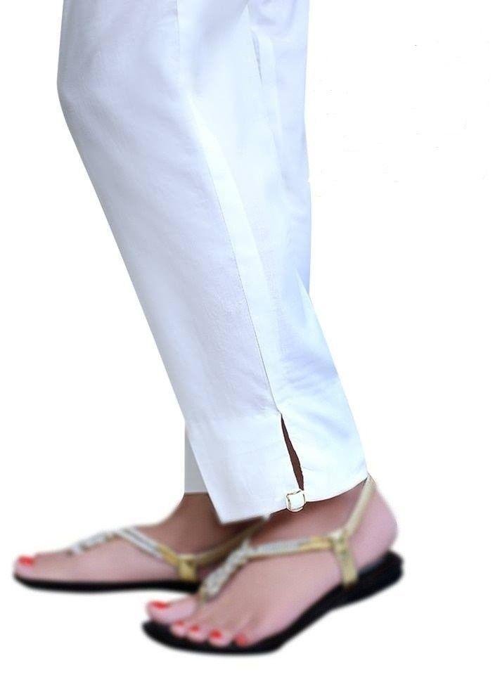 50e1155cd0 New Indian/Pakistani Plain Cotton Ladies readymade Shalwar/Trouser  (Stitched) #Handmade