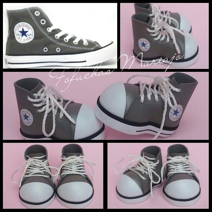 ZAPATILLAS CONVERSE ALL STAR, PARA FOFUCHAS. | Zapatos goma