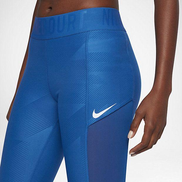 on sale f5a4e 7413e NikeCourt Power Women's Tennis Tights   Tennis