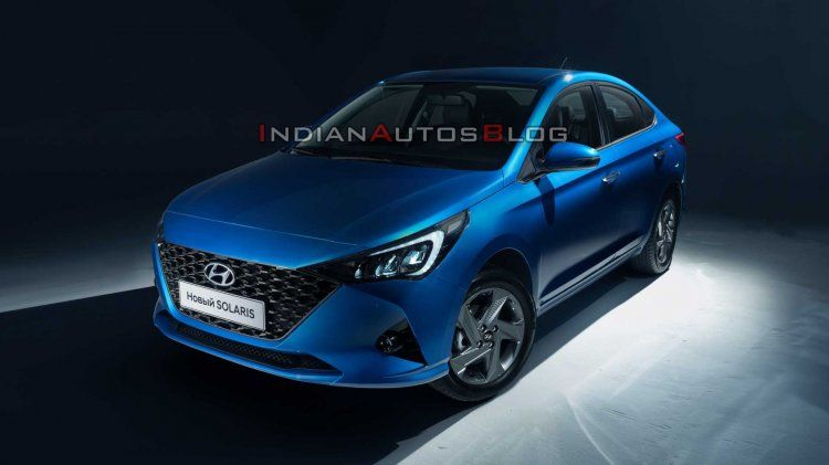 India Bound 2020 Hyundai Verna Facelift Officially Revealed In Russia In 2020 Hyundai Fuel Economy Honda City