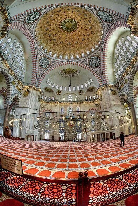 Sulimania Mosque Istanbul Turkey Islamic Art