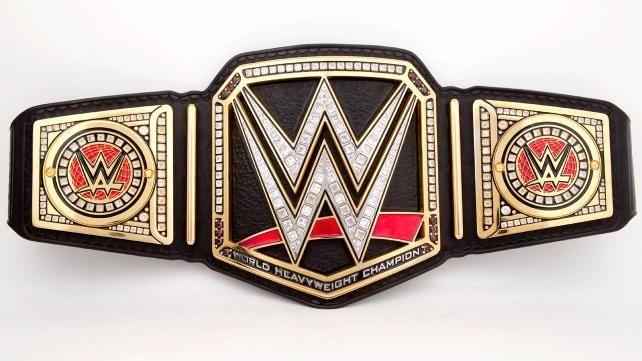 Wwe World Heavyweight Championship Belt 2014 Brock Lesnar WWE Championship Belt ...