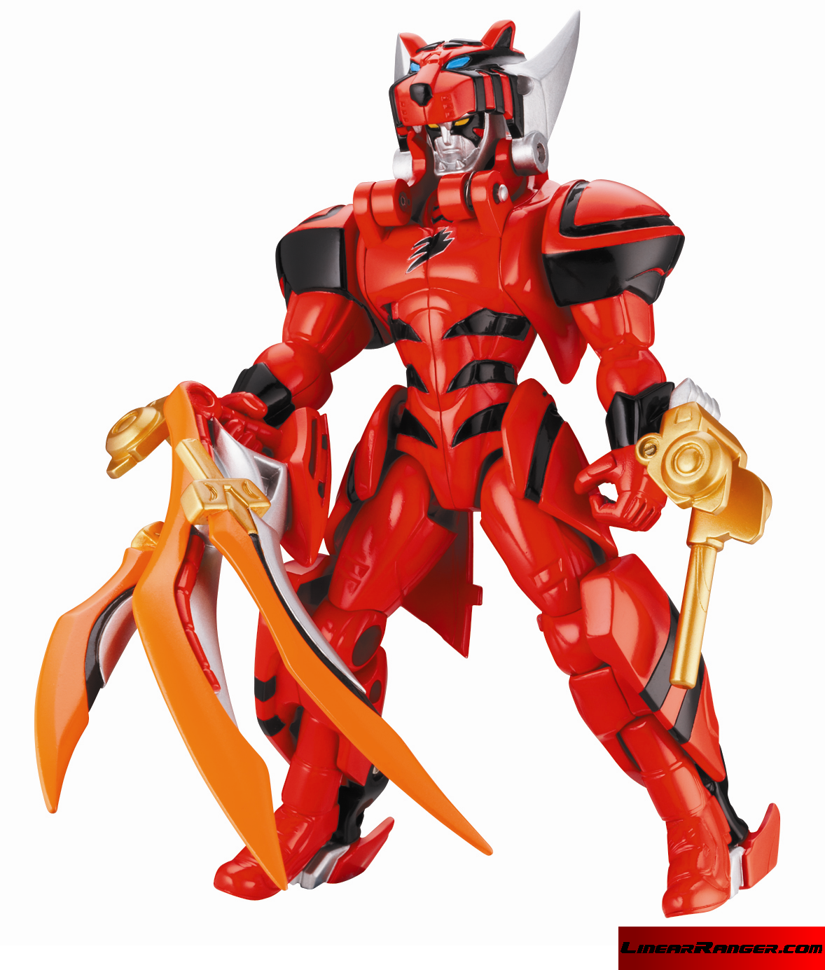 Power Rangers Jungle Fury Armored Red Ranger figure # ...