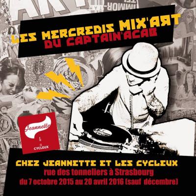 autre MIX'ART de Captain'Acab / soirée et exposition  Jeannette et les Cycleux