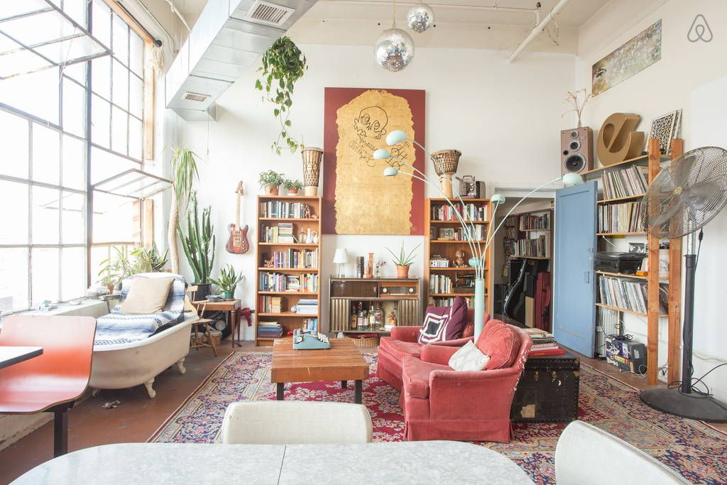 Bohemian Paradise In Industrial Bk Apartments For Rent In Brooklyn Lofts For Rent Eclectic Loft Stylish Home Decor