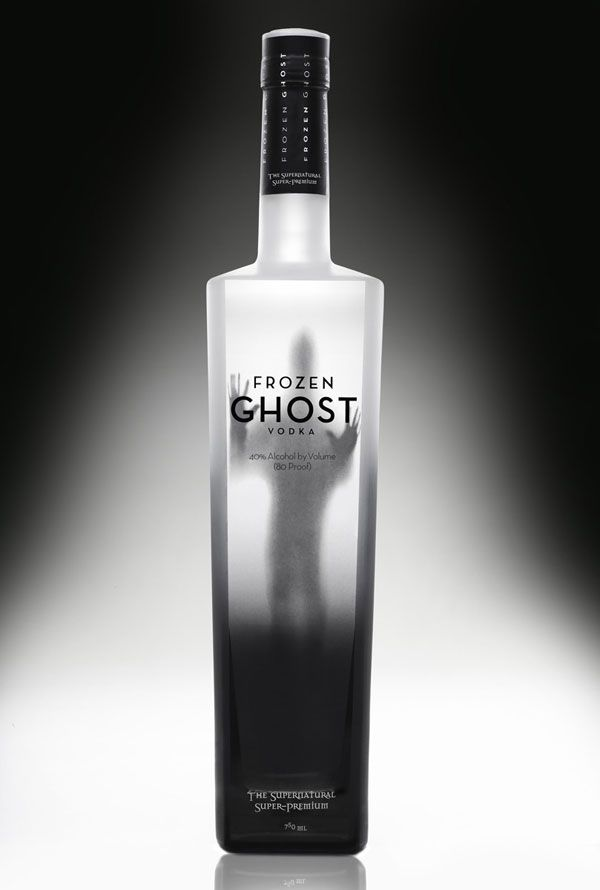 Unique Packaging Designs   Frozen Ghost Vodka