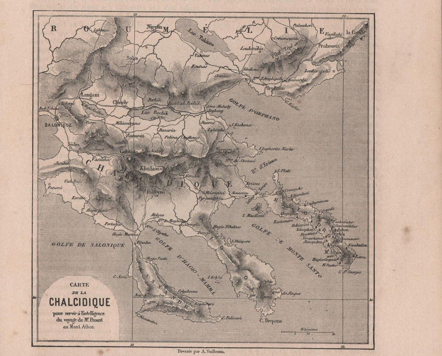 Antique Map of Greece  19th Century Greek Map by reveriefrance on Etsy