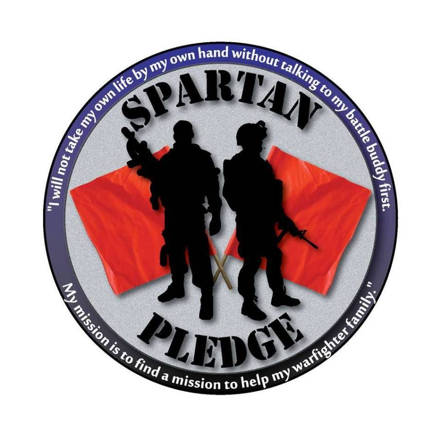 Please take The Spartan Pledge with us. #NotOneMore #SuicidePrevention #PTSD