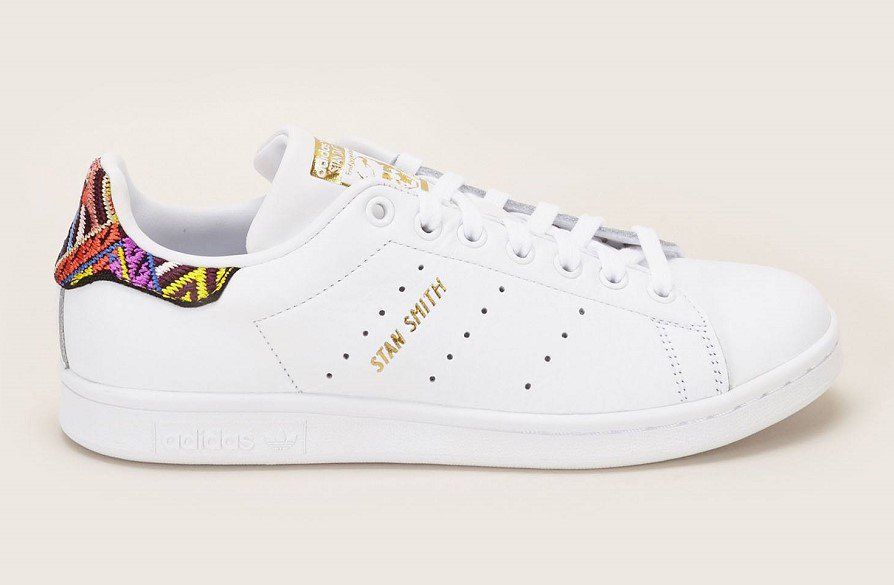 Adidas Originals Stan Smith W Sneakers en cuir brodé