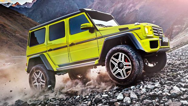 Mercedes G500 4x4: prima foto e video ufficiali