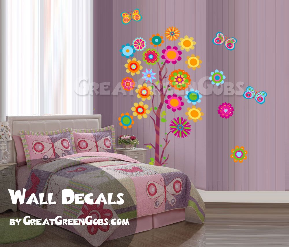 Teenage bedroom wall art - Images Bedroom Tree Images Bedroom Tree Pink Moon Girls