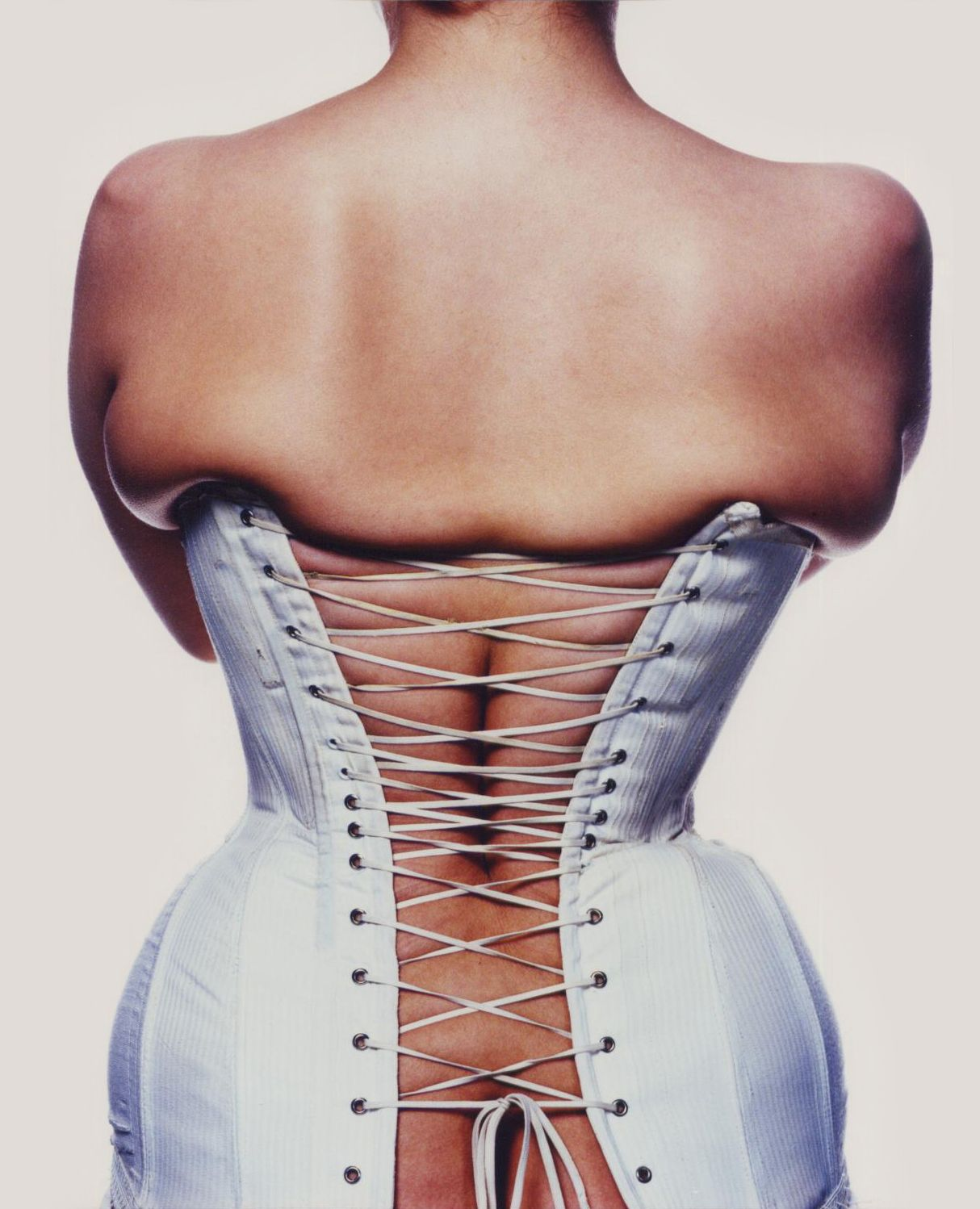 Some of My 1990s Art College Degree Fashion Photography | Corset, 1994 - Catherine Summers