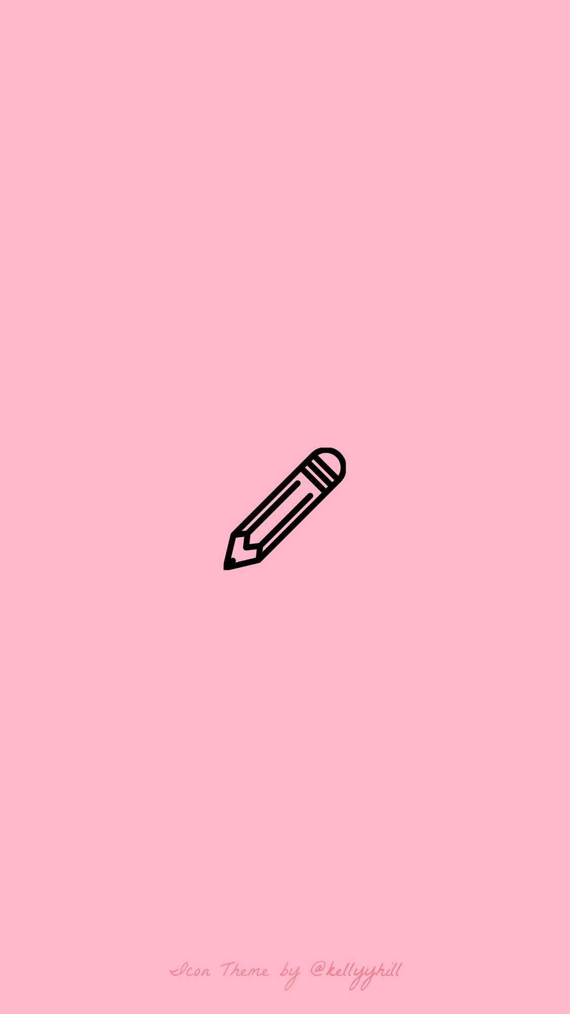Wallpaper Aesthetic Wallpaper Pastel Pink Youtube Logo