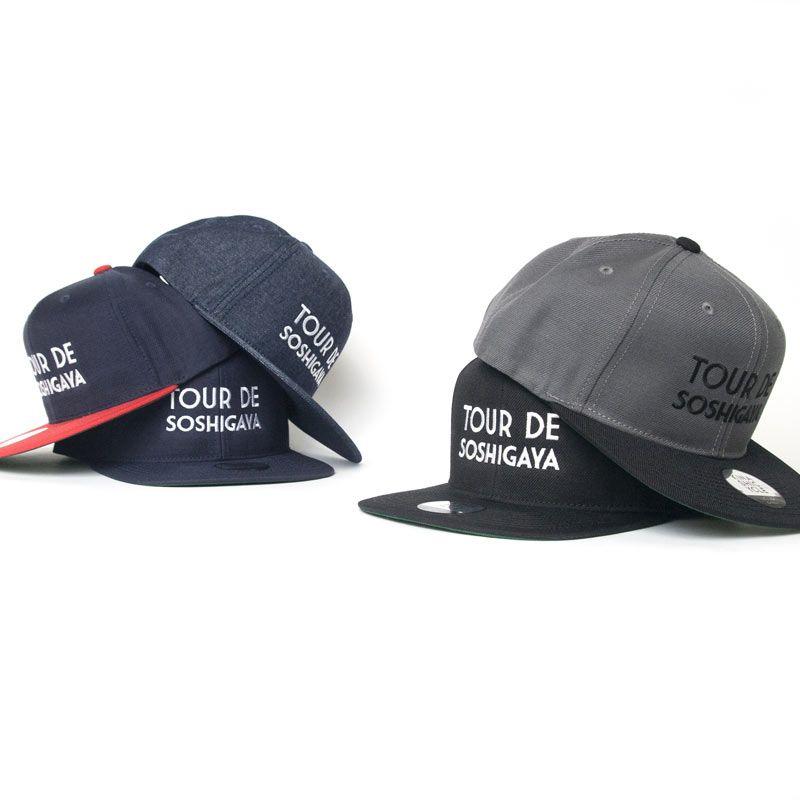 f885cd9890cfe 木梨サイクル / スナップバックキャップ(TOUR DE SOSHIGAYA) | CAP ...